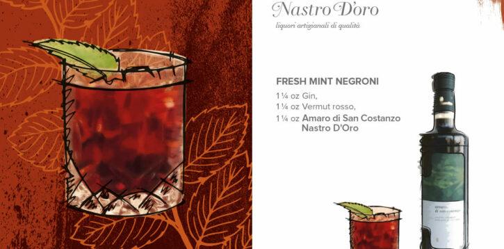Fresh Mint Negroni