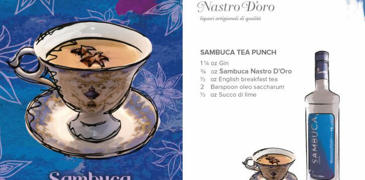 Sambuca Tea Punch